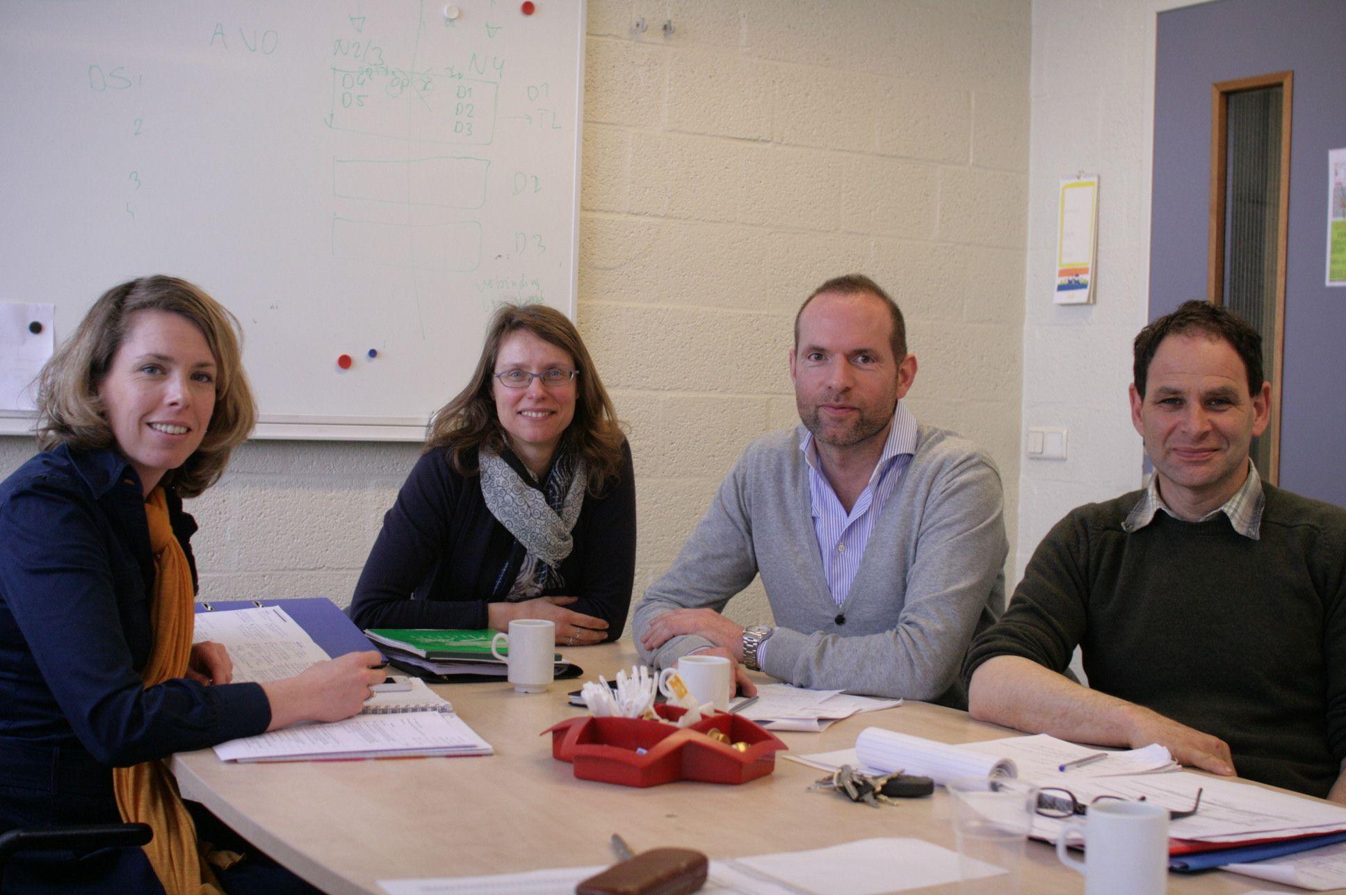 drs. Saskia van Leeuwen (directeur) + team